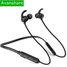 Avanshare SoundBuds Lite Bluetooth Casque Intégré Mic Sans Fil Léger Neckband Casque Résistant À L'eau Sport Écouteur