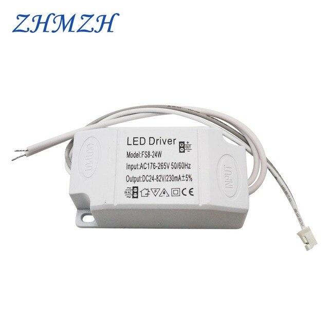 Драйвер постоянного тока для светодиодных светильников, 176 мА, 8 24 Вт