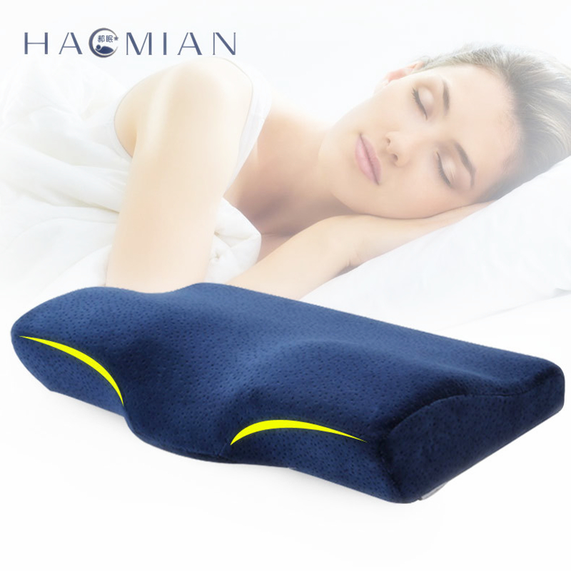 High Density Memory Foam Bed Pillow Therapeutic Cervical Travel Neck