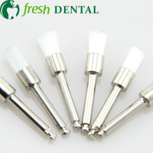 1000 PCS dental Latch style flat Prophylaxis brush polishing White nylon brush Dentist Prophylaxis nylon brush as seen SL-PB330