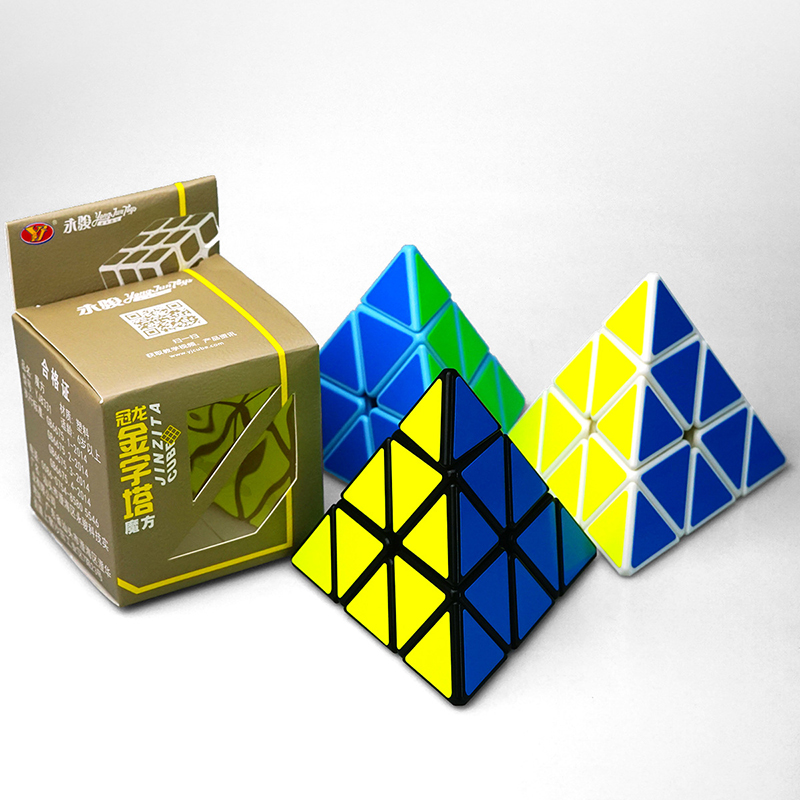 Classic Toys pyraminx Magic Speed Cube professional pyramid cubo magico Cast Coated Puzz ...