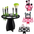 New Makeup Brushes Holder Stand Collapsible Air Drying Makeup Brush Organizing Tower Tree Rack Holder Cosmetic Tool