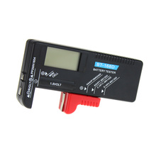 Portable Digital Battery Tester BT-168D Volt Checker for 9V 1.5V Button Cell Rechargeable AAA AA C D Universal Battery Teste