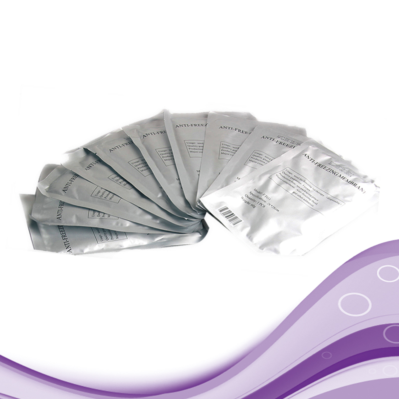 Image 5 - 100PC Antifreeze Membrane Mask Film Fat Anti Cooling Gel Pad Cryo Therapy Weight Loss Paper Pad For Cryolipolysis Machine-in Toiletry Kits from Beauty & Health