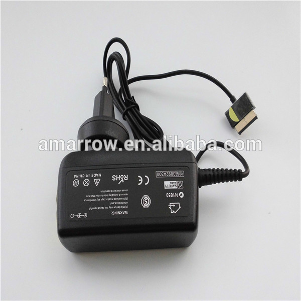 For ASUS TF101 TF300 Tablet Charger 15V 1.2A Wide-Neck
