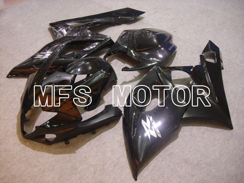 For Suzuki GSXR 1000 K5 2005 2006 Bodywork Injection ABS Fairing Kits GSXR1000 K5 05 06 - Others - All Black oem injection moulding moto fairing kit for suzuki k5 gsxr 1000 2005 2006 kits 05 06 all glossy black full fairings kits