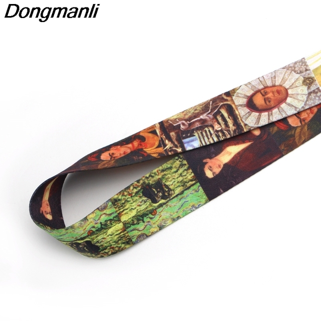 P2062 Dongmanli Mexican artist Lanyards For Keys ID Card Pass Gym Mobile Phone USB Badge Holder Hang Rope Lariat Lanyard