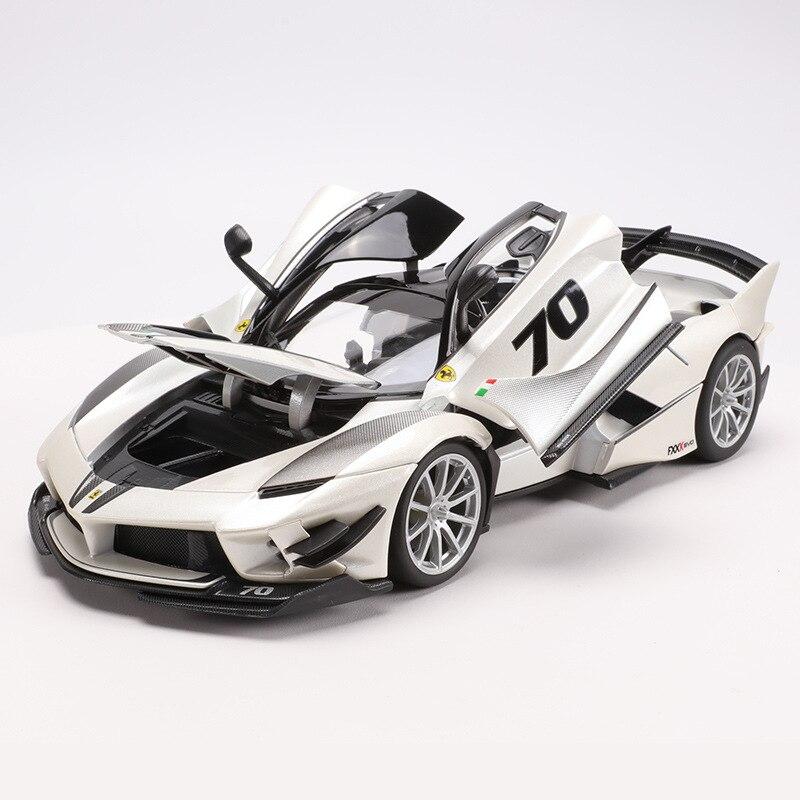 1:18 스케일 톱 버전 fxxk 스포츠카 모델 시뮬레이션 된 합금 자동차 장난감 모델 스티어링 휠 컨트롤 프론트 휠 스티어링-에서다이캐스트 & 장난감 차부터 완구 & 취미 의  그룹 1