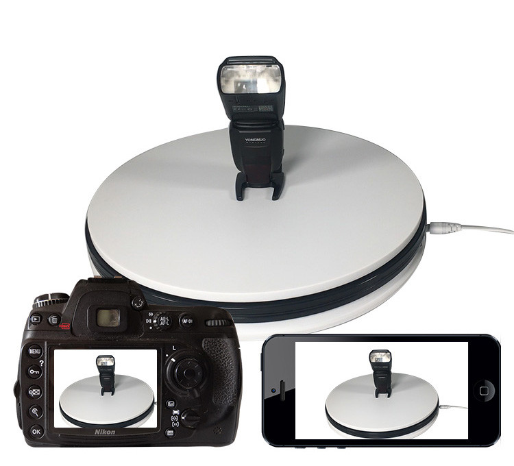 Electric turntable display stage photography turnable video rotating disc baby 360 degree panorama shooting production CD50|Photo Studio Accessories| |  - title=