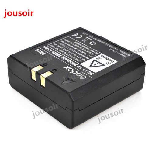 Godox VB18 DC 11.1 v 2000 mah 22Wh Lithium-ion Li-ion Pin cho V850 V860C V860N Flash Speedlite (VB-18 Pin) CD50 A04