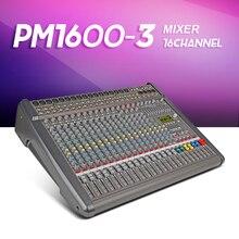 Nouveau!! Top qualité PowerMate 1600-3MIDI en dehors de puissance 16-way avec amplificateur Mélangeur effet Groupe 4 double effet avec r2X1000