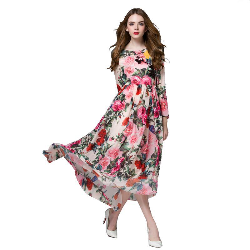 Платья женские длинный руками