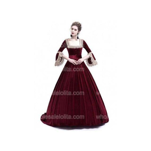 Velvet Ball Gown