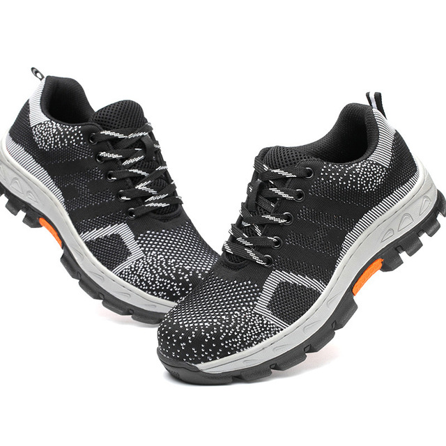 Safety Shoes 2018 New Men Hiking Shoes High Quality Steel-toe Cap Male Labor Protection Shoes for Men Professional Safety Shoe