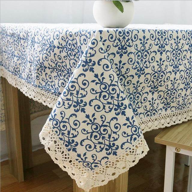 Merveilleux Liner Cotton Tablecloths For Square Tables Oil Proof Diningu0026Coffee Table  Cover Liner Vintage Table Runner Table Cloth For Home