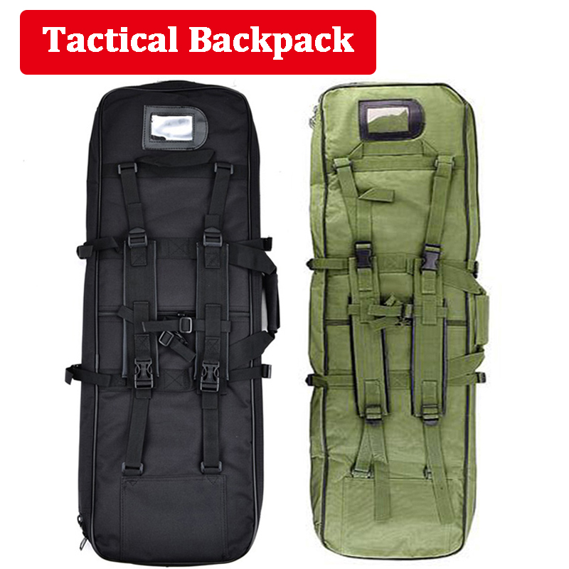 118cm Tactical Rifle Bag Hunting Airsoft Air Gun Protection Carry Shoulder Bag Large Capacity Outdoor Hiking Camping Sport Bag