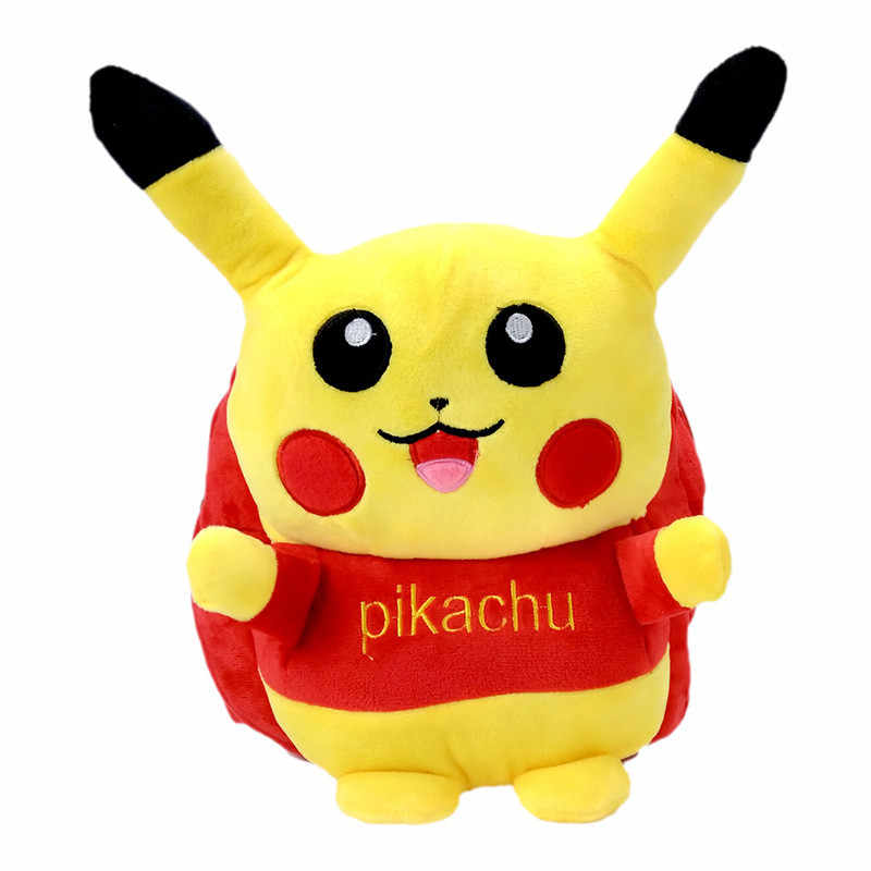 d6179a80f7 Anime Pokemon Pocket Monster Pikachu Cute Backpack Boy School Laptop  Shoulder Bag Free Shipping BY0118