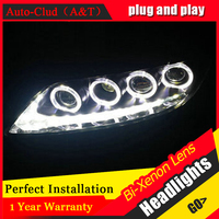 Auto Clud 2003 2013 For mazda 6 headlights For mazda 6 head lamps xenon lens parking