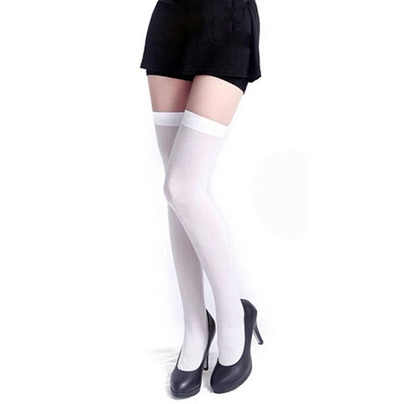 Underwear & Sleepwears Women's Socks & Hosiery Hottest New Design Women Over Knee Thigh High Sexy Skinny Stockings 3 Colors