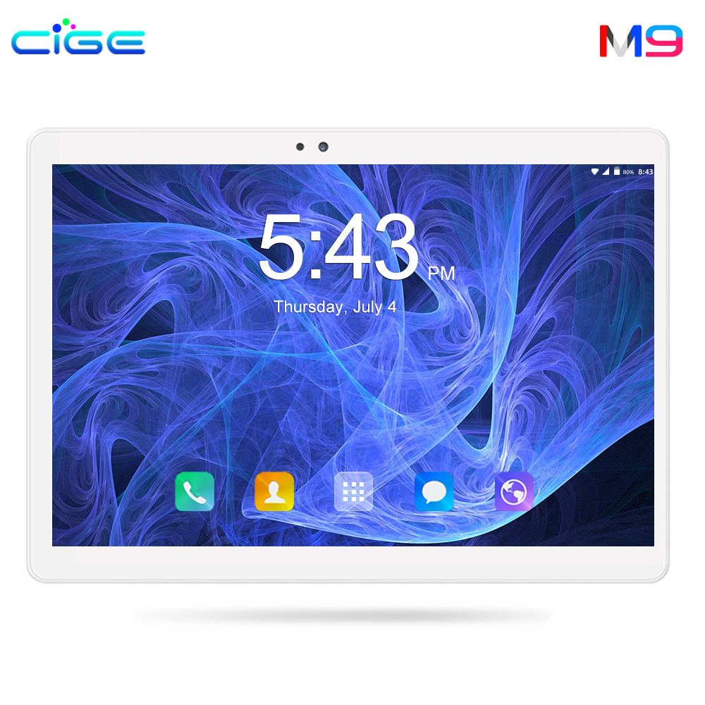 2019 Top Sales 10 Inch 4G LTE Phone Call Android 8.0 Tablet Pc Octa Core 4GB 64GB IPS Tablets WiFi Bluetooth Android Tablet 10.1