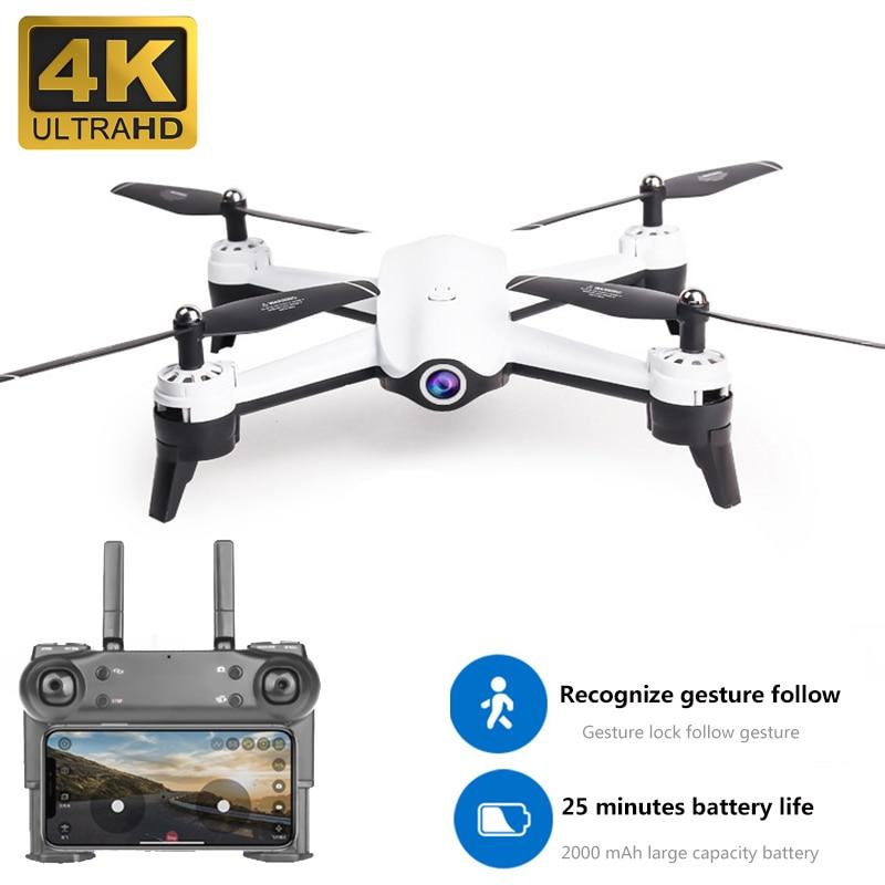 4K S165 posicionamento dual camera inteligente de fluxo óptico siga Zangão helicóptero DO RC HD câmera aérea zangão quadcopter 1080p 4k