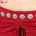 Oriental Dance Costumes B.u.w Brand 2016 New Belly Dance Diamond Chain Women's All-match Decoration Rhinestone Waist Belt 9933