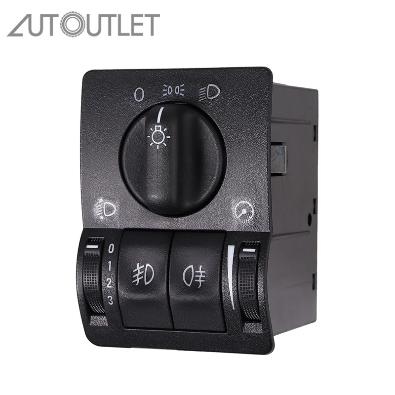 AUTOUTLET Light-Switch Opel Zafira A Astra for New Headlight Driving 6240097 title=