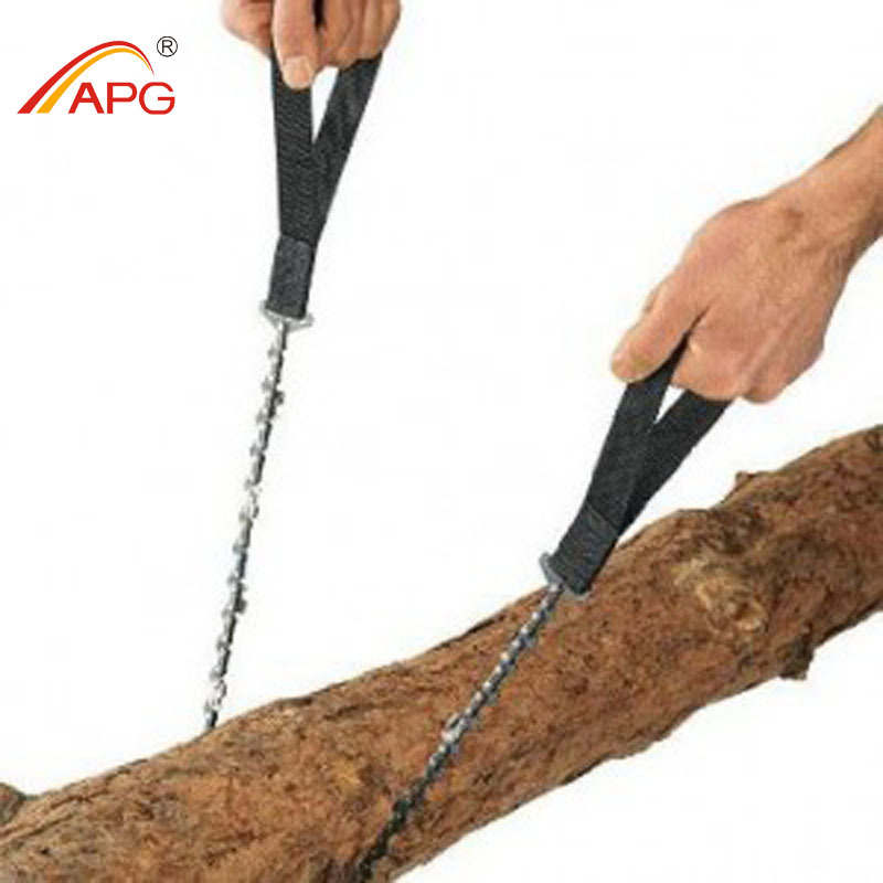 APG 65cm Outdoor Survival Pocket Chainsaw and Camping Gardening Hand Chain Saw apg 65cm outdoor survival pocket chainsaw and camping gardening hand chain saw