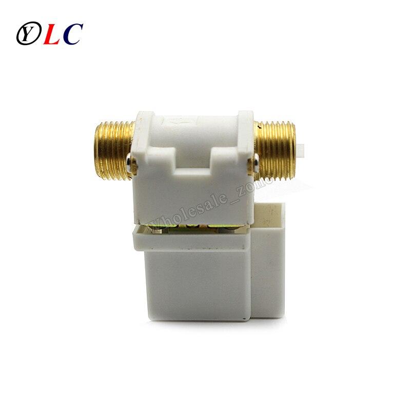 Обычно открытым 1/2 DC 9 В/12 В/24 В Электрический электромагнитный Клапан переключатель для воздуха воды давление 0.02 ~ 0.8mpa
