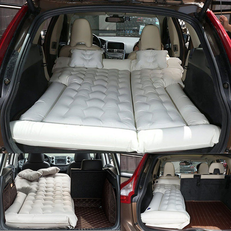 Inflatable Seat Cushion >> SUV Car Travel Inflatable Mattress Camping Air Bed Dedicated Mobile Cushion Extended Outdoor for ...