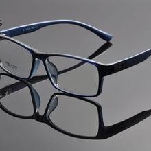 DeDing, мужские супер большие, широкие, негабаритные, полная оправа, прямоугольные, прозрачные линзы, очки, оправа, Size60-18-148mm, anteojos de hombres DD1100