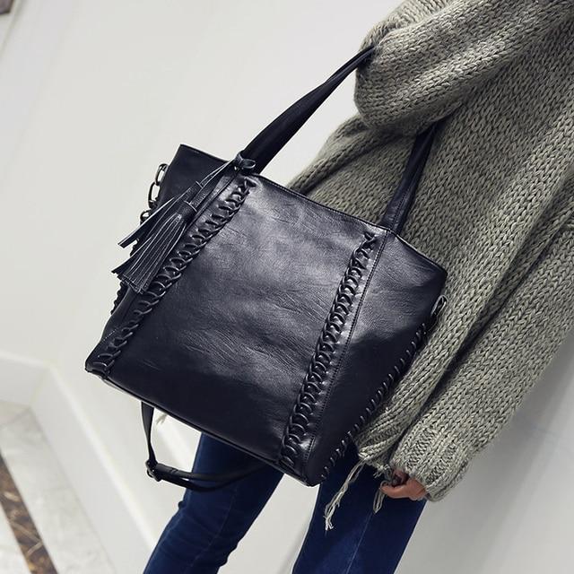 f9df19c19dc KMFFLY large Luxury Handbags Casual Tote Handbags Women Bags Designer PU  Leather Fashion Shoulder Bag Sac