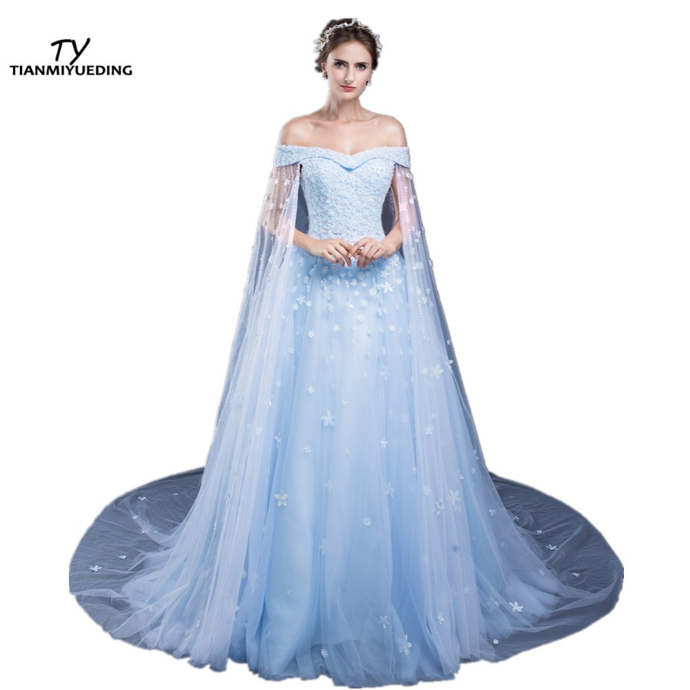Compare Prices on Cheap Light Blue Evening Gowns- Online Shopping ...