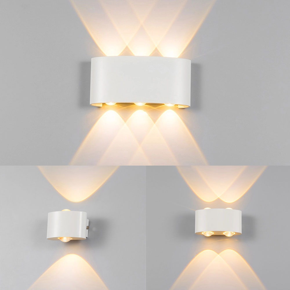 Led Wall Lamp Wall Light Up Down Arc Shaped Wall Lights