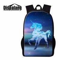Dispalang Elementary Students School Bakcpack Unicorn Bookbag for Children Travel Bookbag Girls Rucksack Pretty Mochilas Boys