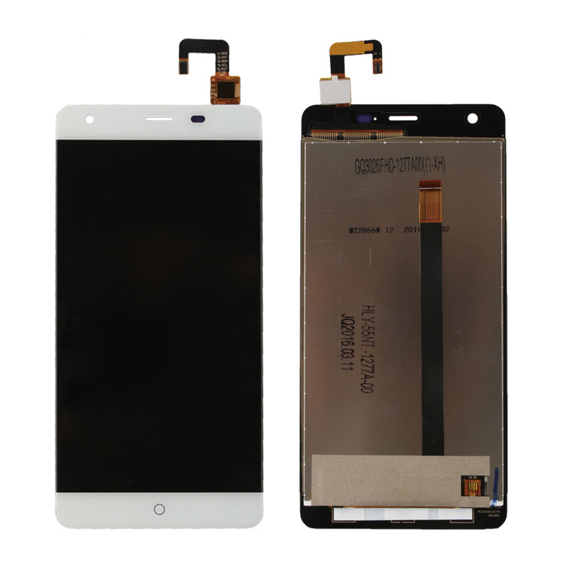 For Ulefone power LCD Display With Touch Screen Digitizer Assembly 5 5 MTK6753 Smartphone Black White
