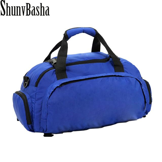 2017 New Canvas Waterproof Travel Bag Mulitifun Ctional Out Men Women Luggage  Men's Backpacks  Bags Women backpack