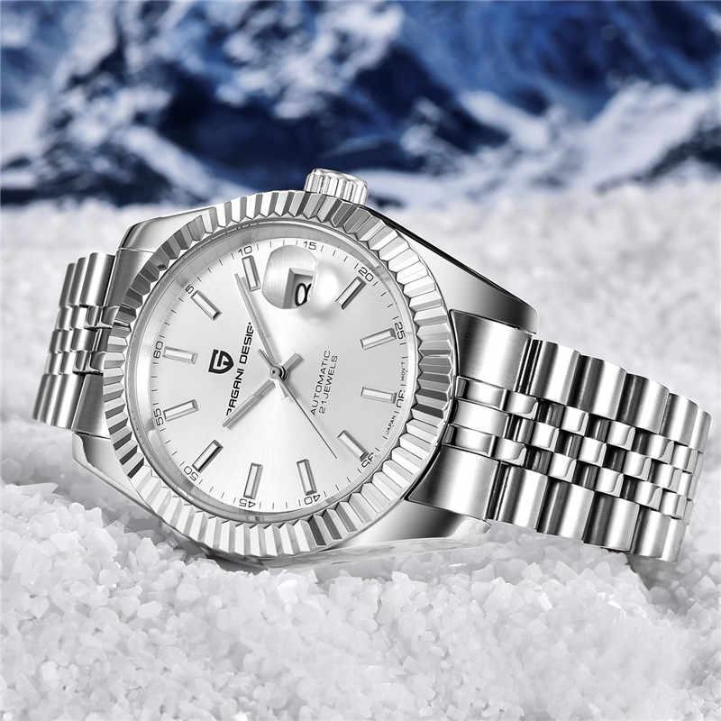 メンズ腕時計 2019 ニュートップラグジュアリーブランドパガーニデザインのファッション自動機械式腕時計メンズミリタリースポーツ腕時計 + ボックス