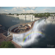 Moge landscape Diamond Painting waterfall Natural scenery DIY embroidery Nature painting full round