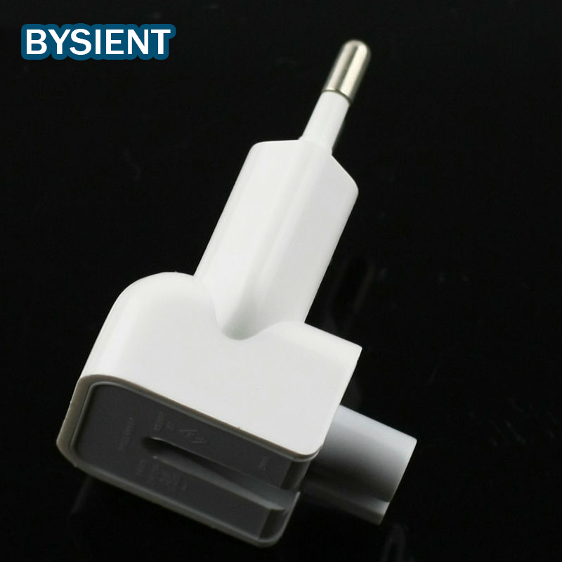 Bysient Muri origjinal në mur AC Euro Plug Duck Head for Apple iPad iPhone Adapter Zëvendësimi BE BE Koreja e SHBA pin enchufe adapter usb