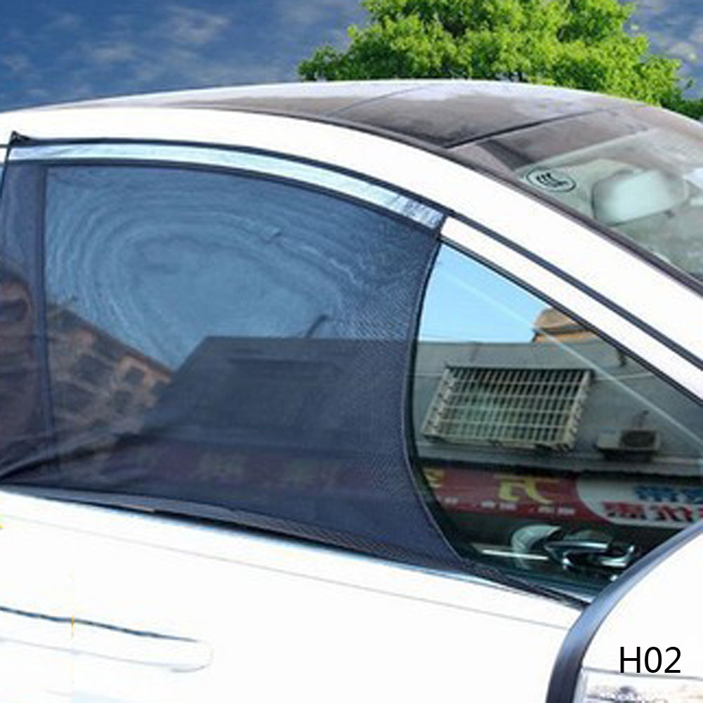 Car Window Cover Sunshade Curtain Protection Shield Sun Shade Visor Mesh Solar Mosquito Dust Protection Car-covers