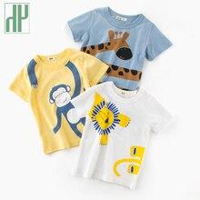 Toddler Boys Tshirts Tops Summer Children T Shirts Clothes Tee Shirt Cotton Character Print Kids Girls 2 To 10