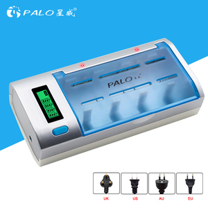 LCD Display Auto Switch Off and Overheat Protection Universal Rechargeable Batteries Fast Charger & Discharger