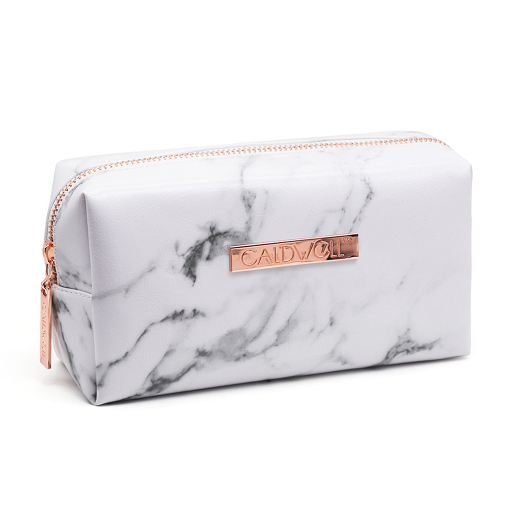 Fashion Ladies Makeup Cosmetic Bag Marble