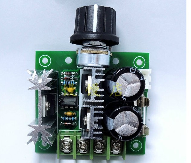 Freeshipping 10pcs/lot CCMHC PWM dc motor speed 12V-40V 10A 13 KHz PWM freeshipping dc motor speed regulator pwm adjustable voltage stability module