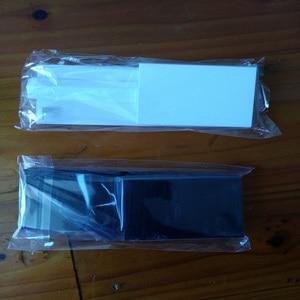 Image 1 - FZQWEG 50 ensembles nouveau remplacement blanc noir Memeory carte fente de porte couvercle 3 pièces couvertures de porte pour Console Nintendo nprévaloir Wii