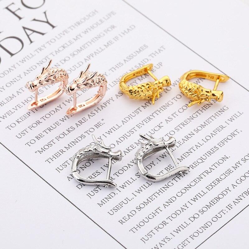 Punk dragon earrings (1)