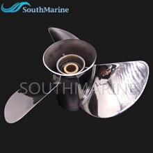 688 45970 03 98 hélice de aço inoxidável 13x19 k do motor do barco para o motor de popa de yamaha 60hp 70hp 75hp 80hp 85hp 90hp 115hp 130hp