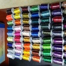 6 или 10 конусов одинаковых/разных цветов Brother или Simthread полиэфирная нить для вышивания 1000 метров конус