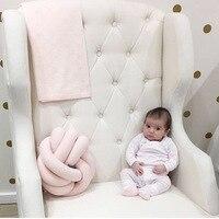 Vivid Knot Ball Cushion Office Waist Back Cushion Baby Nap Pillow Stuffed Dolls Toys For Kids